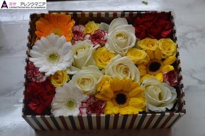 沖縄の花屋アレンジマニア・ボックスフラワー
