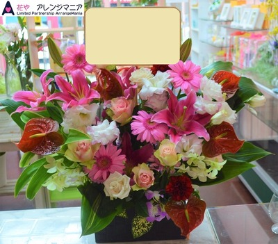 沖縄で開店祝いのお花・花屋アレンジマニア