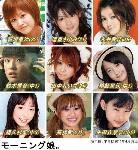 モーニング娘。9期メンバー決定! : 天花繚乱