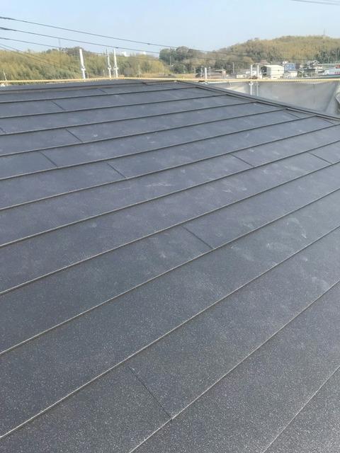 西野屋根完成