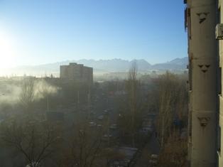 アパートからの風景