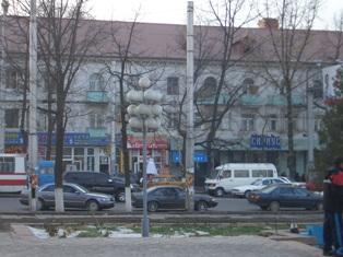 キルギスの街角