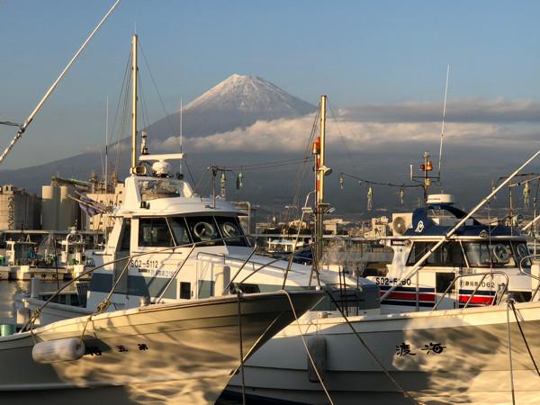 田子の浦港・富士山4