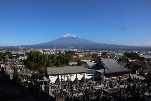大泉寺・富士山3