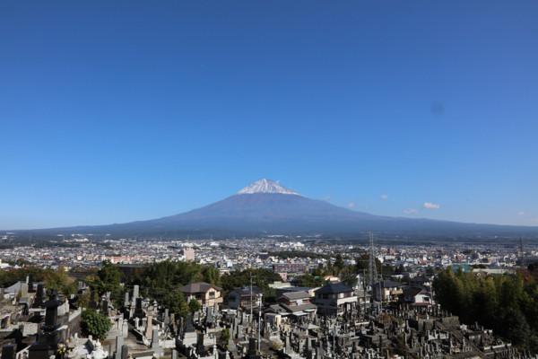 大泉寺・富士山1