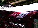 アウェイトヨタスタジアムオープニング 浦和レッズデカ旗