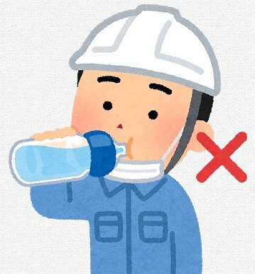 s-20200530マスク水を飲む男性2