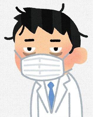 s-20200612疲れた医師 男性