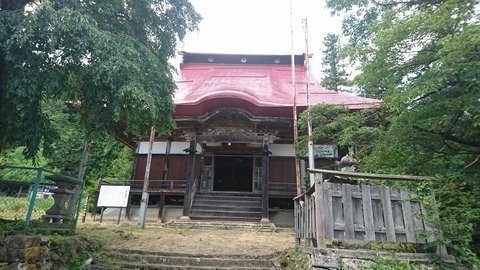 倉沢薬師堂