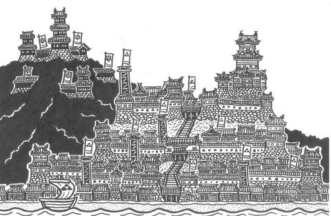 小田原城と石垣山城