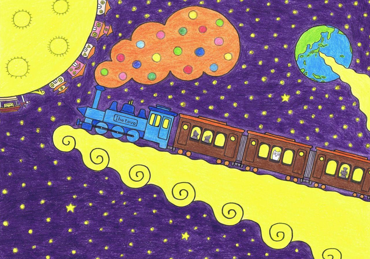 銀河 鉄道 の 夜 イラスト