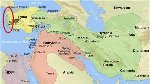 紀元前600年オリエント