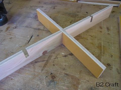 組み木の加工