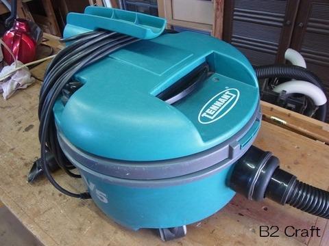 コンテナ廃棄の掃除機