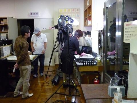 NHK撮影2