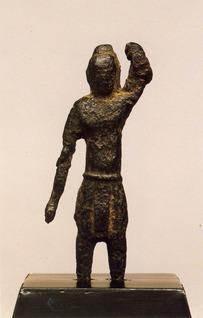 市指定有形文化財誕生釈迦仏立像(東雲寺)