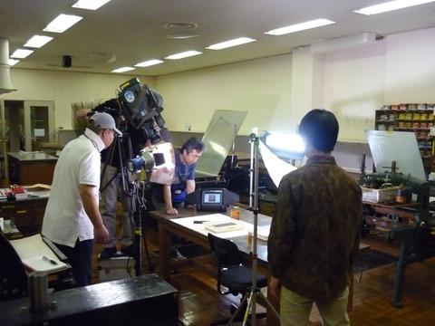 NHK撮影1