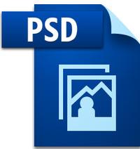 PSD画像