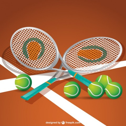 tennis-equipment-vector_23-2147488663