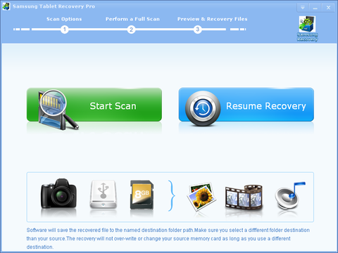 Samsung Tablet Recovery Pro1