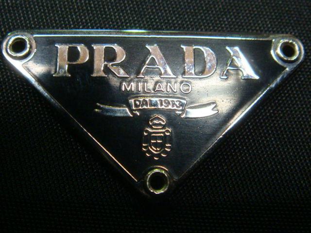 9ca84e469c9b PRADA不正品の三角プレート(偽物・コピー品情報). DSC07525