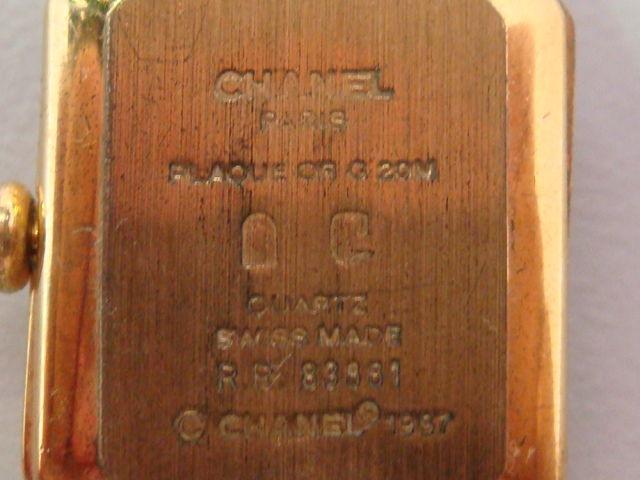 59e1f283e900 シャネルの定番人気クォーツ「プルミエール」の不正品になります。