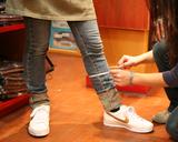 脚絆�サイズを測る