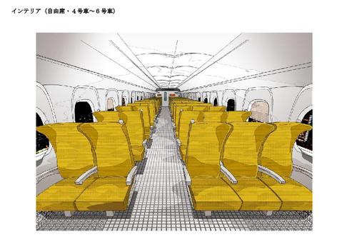 jrkyushu_kamome_n700s_interior_nonreserved