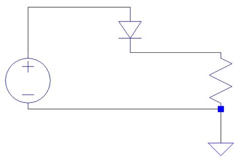 半波整流回路図