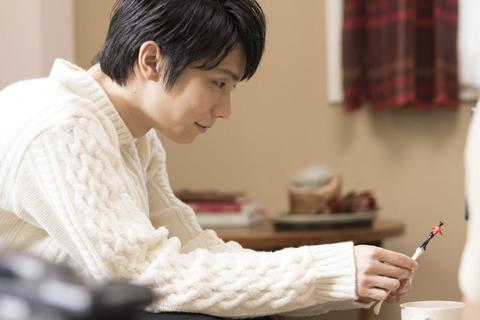 【メイキング画像】ホットガーナ_羽生選手-1-e1542200140542