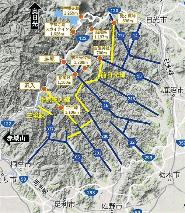 2018年6月9日 前日光エリアの新星・林道作原沢入線へ