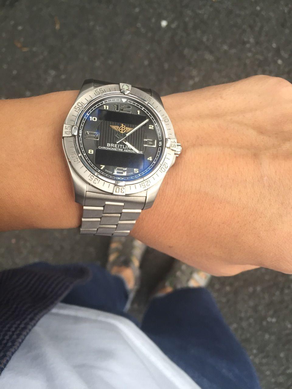 lower price with 0810f acd7e ブライトリング エアロスペース(現行) : haochiのこそっと腕時計 ...
