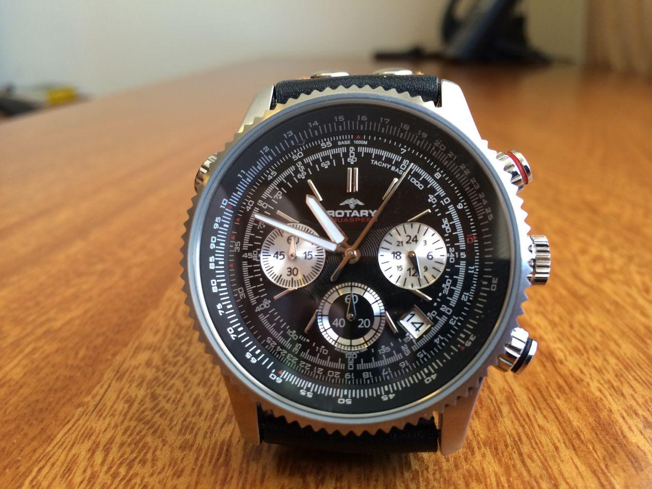 new products 9b874 4f2c5 4個目 憧れのナビタイマー。に似た時計 ROTARY AQUASPEED ...