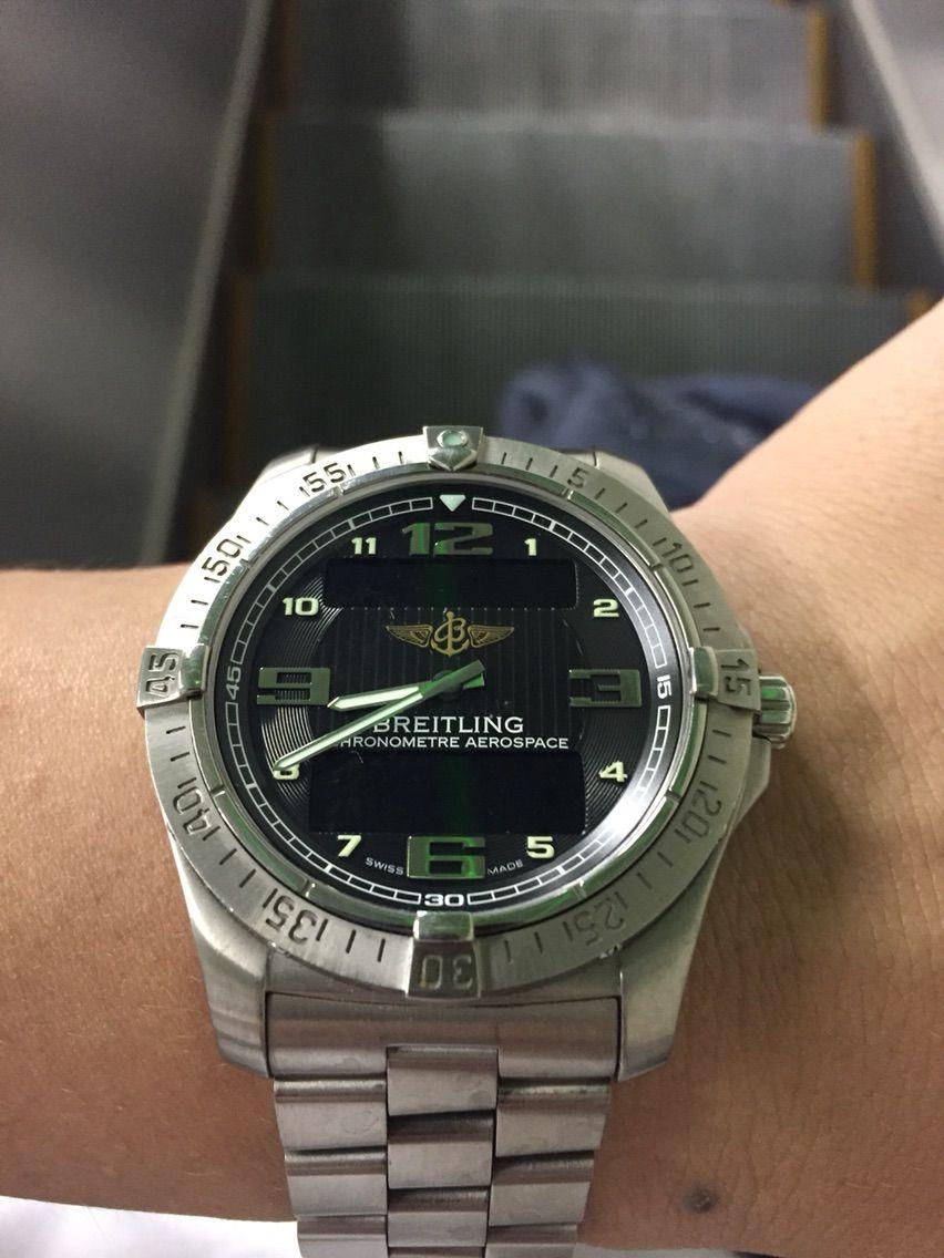reputable site 4ecb8 2c935 ブライトリング エアロスペース : haochiのこそっと腕時計ブログ
