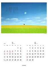 葉祥明カレンダー2009(5,6月)