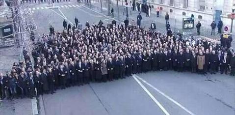 パリ事件首脳デモ真相
