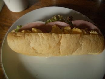 大麦パンのサンド