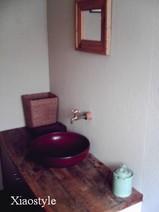 比奈カフェのトイレ(笑)