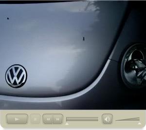 ビートルの鳥の糞を除去する方法の洗車ビデオです。