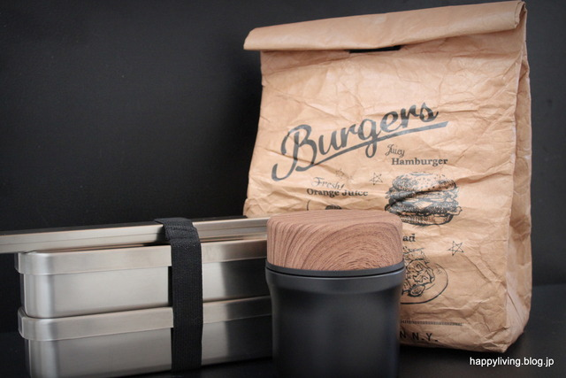 アイザワ クラフト スープジャー 保冷 弁当箱 シンプル (3)