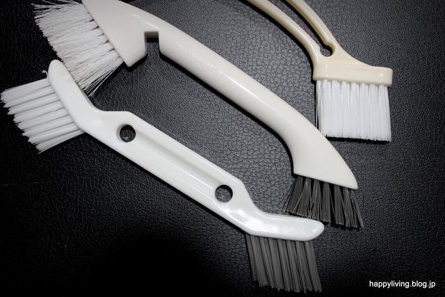 ホワイトインテリア ツインブラシ 掃除 100均 ワッツ (6)