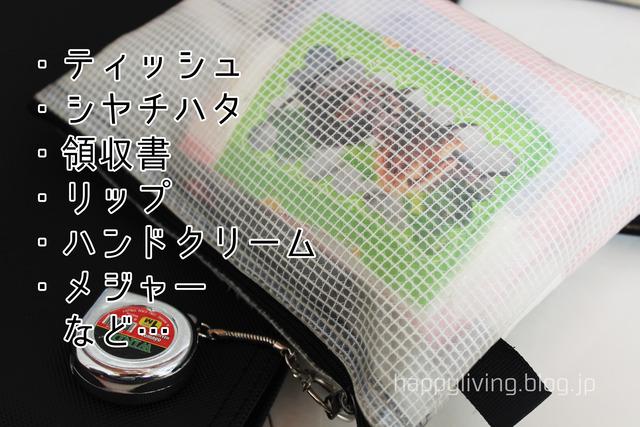 バッグの中身 整理収納 バッグインバッグ (8)