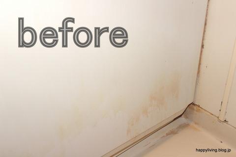 実演お掃除セミナー 浴室 エプロン before-002