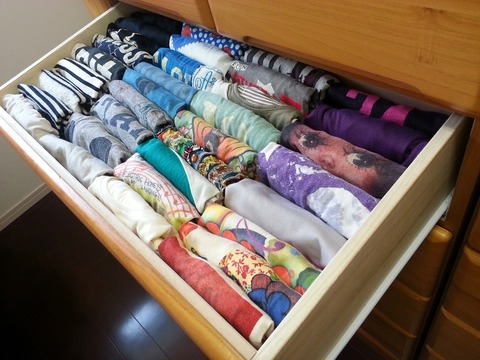 Tシャツ 収納