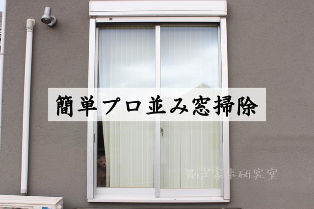 窓掃除 やり方 簡単 (9)