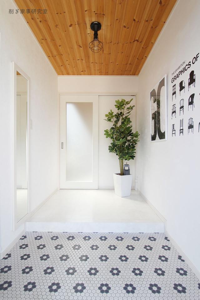 家づくり 玄関13
