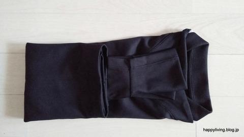 ポロシャツ コンパクトに畳む (6)