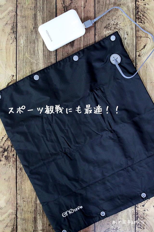 エネタンポ シートヒーター スポーツ観戦 防寒 (2)