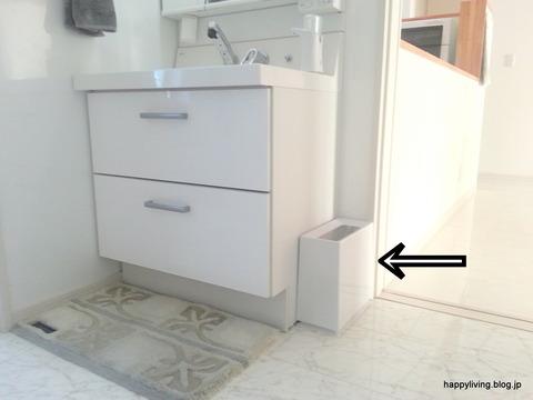 洗面所 ゴミ箱