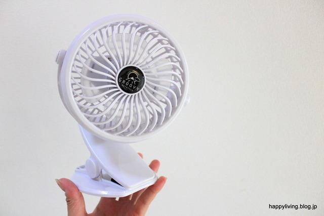 ミニ扇風機 クリップファン モノトーン 充電 USB (7)